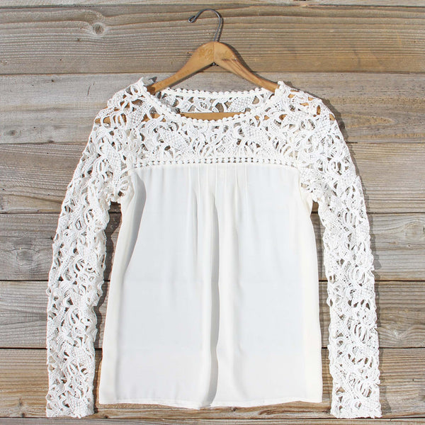 Lovely Lace Top: Featured Product Image