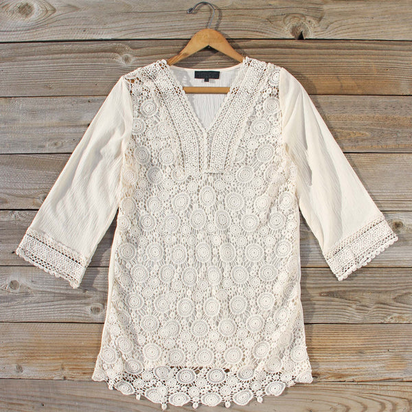 Low Rising Lace Tunic: Featured Product Image