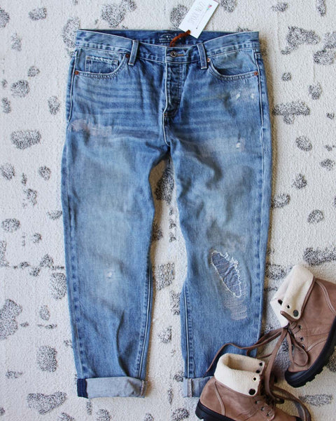 Spool + Lucky Patch Jeans: Featured Product Image