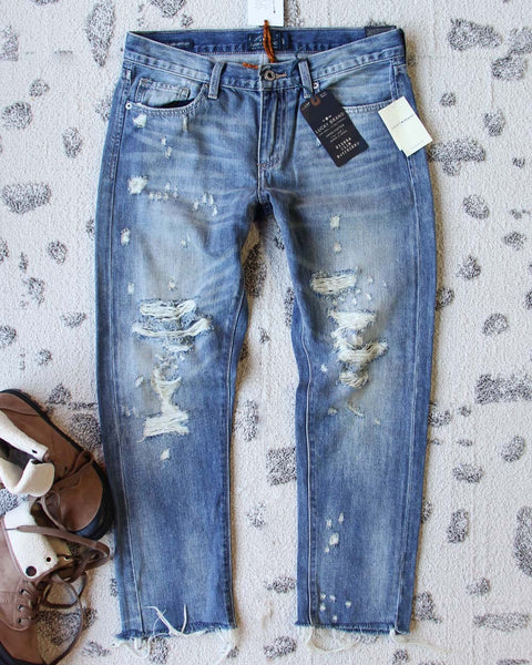 Spool + Lucky  Destructed Jeans: Featured Product Image