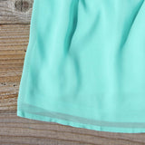 Lucky Star Party Dress in Mint: Alternate View #3