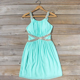 Lucky Star Party Dress in Mint: Alternate View #1