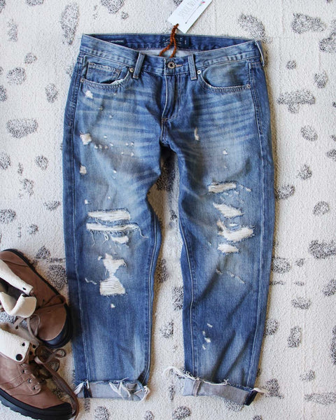 Spool + Lucky Softly Worn Jeans: Featured Product Image