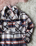 Lumber Jill Jacket Shirt in Navy: Alternate View #3