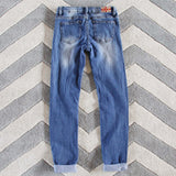 The Lundi Distressed Jean: Alternate View #3