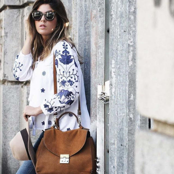 Lux Boho Blouse: Featured Product Image