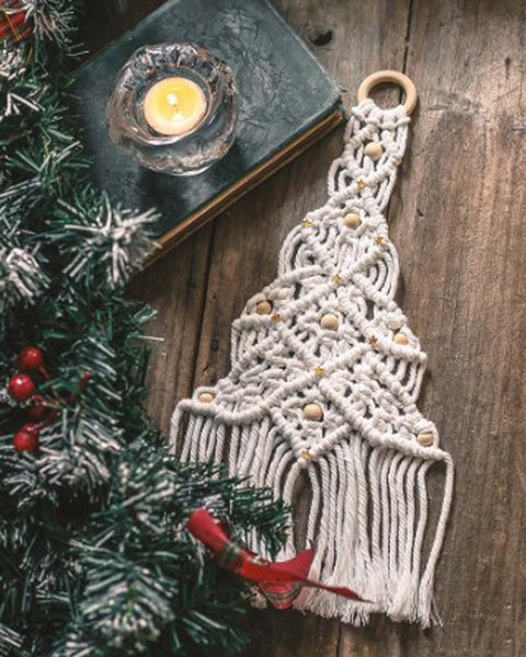 Nordic Macramé Christmas Tree: Featured Product Image