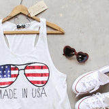 Made in the USA Tank: Alternate View #2