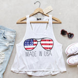 Made in the USA Tank: Alternate View #1