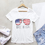 Made in the USA Tee: Alternate View #2