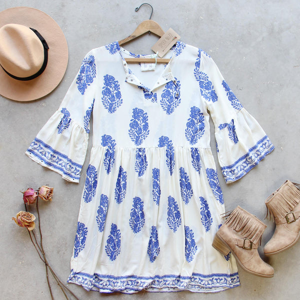 Maddy Block Print Dress: Featured Product Image