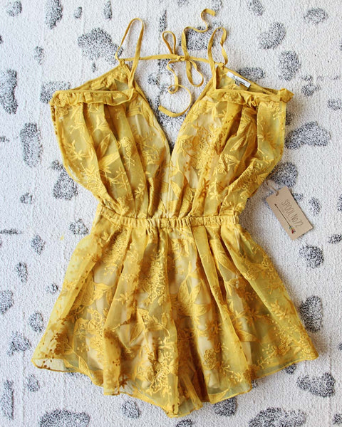 Maison Belle Romper: Featured Product Image
