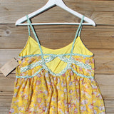 Marigold Sky Dress: Alternate View #1