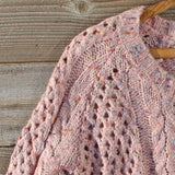 Marlow Lace Fisherman's Sweater: Alternate View #2