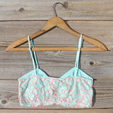 Marlow Lace Bra Top: Alternate View #3