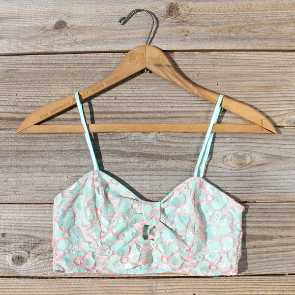 Marlow Lace Bra Top: Featured Product Image
