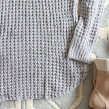 Marlow Knit Sweater Dress: Alternate View #3