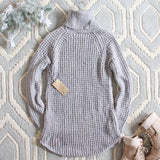 Marlow Knit Sweater Dress: Alternate View #4