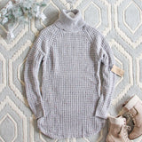 Marlow Knit Sweater Dress: Alternate View #1