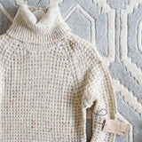 Marlow Knit Sweater Dress in Sand: Alternate View #2