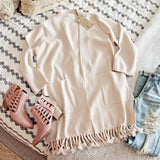 Marley Fringe Sweater (wholesale): Alternate View #2