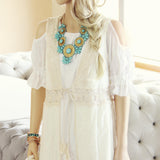 Marrakesh Lace Duster in Cream: Alternate View #3