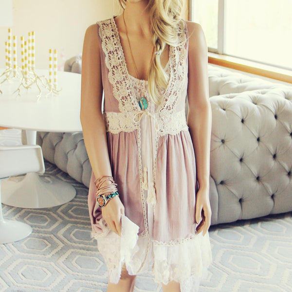 Marrakesh Lace Duster: Featured Product Image
