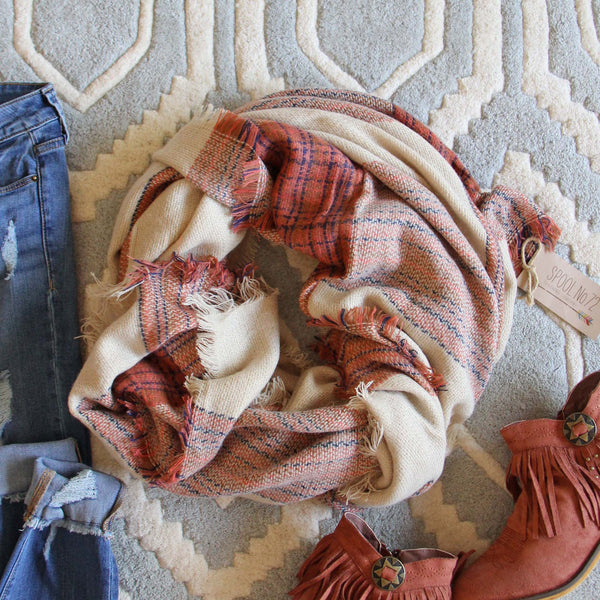 Mason Knit Blanket Scarf: Featured Product Image
