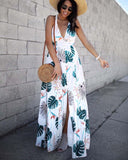 Maui Palm Maxi Dress: Alternate View #1
