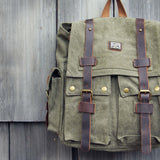 Maverik Rugged Backpack in Sage: Alternate View #2