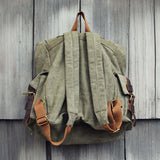 Maverik Rugged Backpack in Sage: Alternate View #3