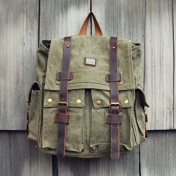 Maverik Rugged Backpack in Sage: Featured Product Image