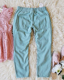 Faded Sage Pants: Alternate View #4