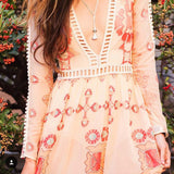 The Medallion Maxi Dress: Alternate View #3