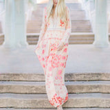 The Medallion Maxi Dress (wholesale): Alternate View #1