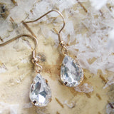 Melted Snow Earrings: Alternate View #2