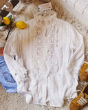 Goddess Lace Blouse: Alternate View #2