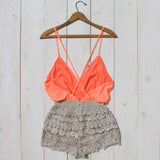 Caravan Romper in Peach: Alternate View #5
