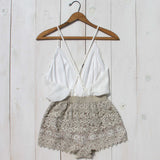 Caravan Romper in White: Alternate View #5