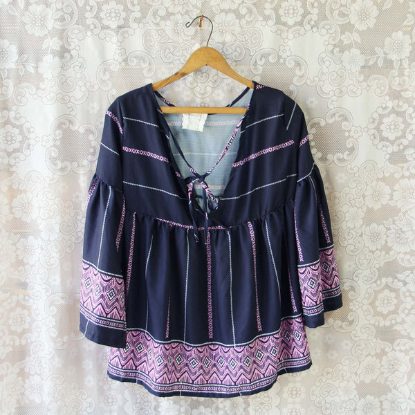 Midnight Lavender Top: Featured Product Image