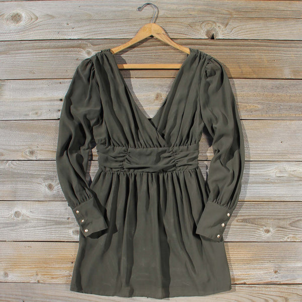 Midnight Sage Dress: Featured Product Image