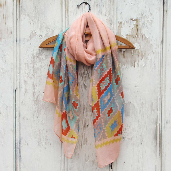 Midnight Sun Scarf in Pink: Featured Product Image