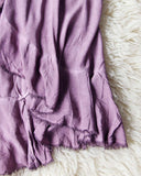 Mineral Wrap Maxi Skirt in Mauve: Alternate View #3
