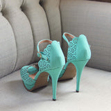 Mint Leaf Heels: Alternate View #3