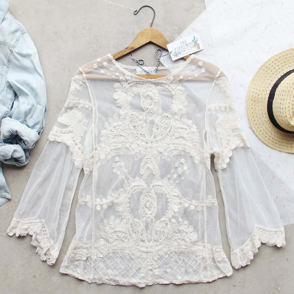 Mirage Lace Top: Featured Product Image
