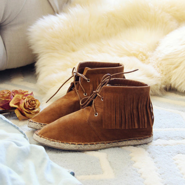 Missoula Fringe Moccasins: Featured Product Image