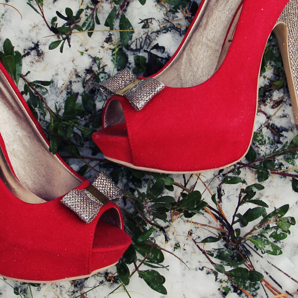Mistletoe Party Shoes: Featured Product Image
