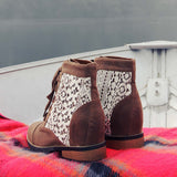 Misty Lake Lace Boots: Alternate View #3