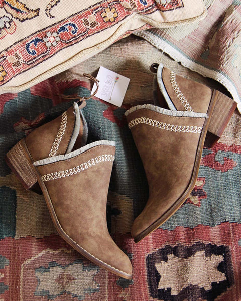 Moccasin Booties: Featured Product Image