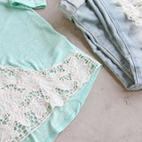 Mojito Lace Tee: Alternate View #3